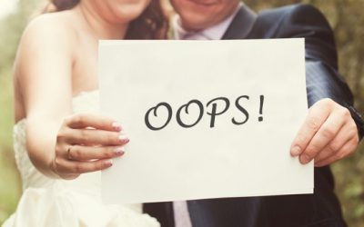 The top 10 mistakes to avoid when planning your wedding