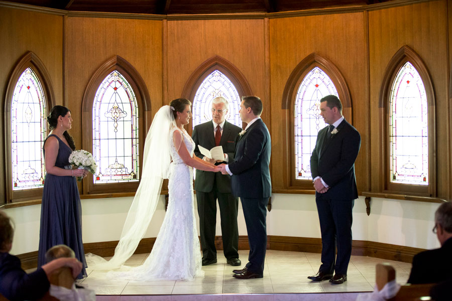 Ballara Receptions - Melbourne Wedding Chapel Ceremony