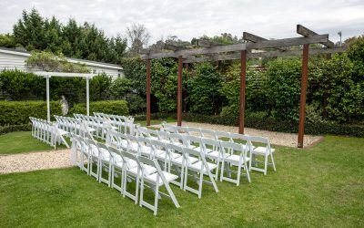 Melbourne Wedding Courtyard Ceremony