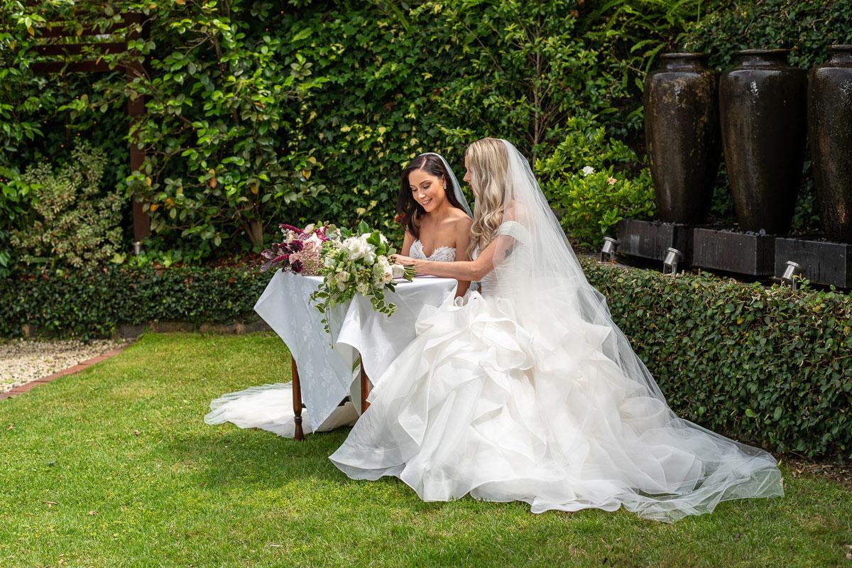 Ballara Receptions - Melbourne Wedding Courtyard Ceremony