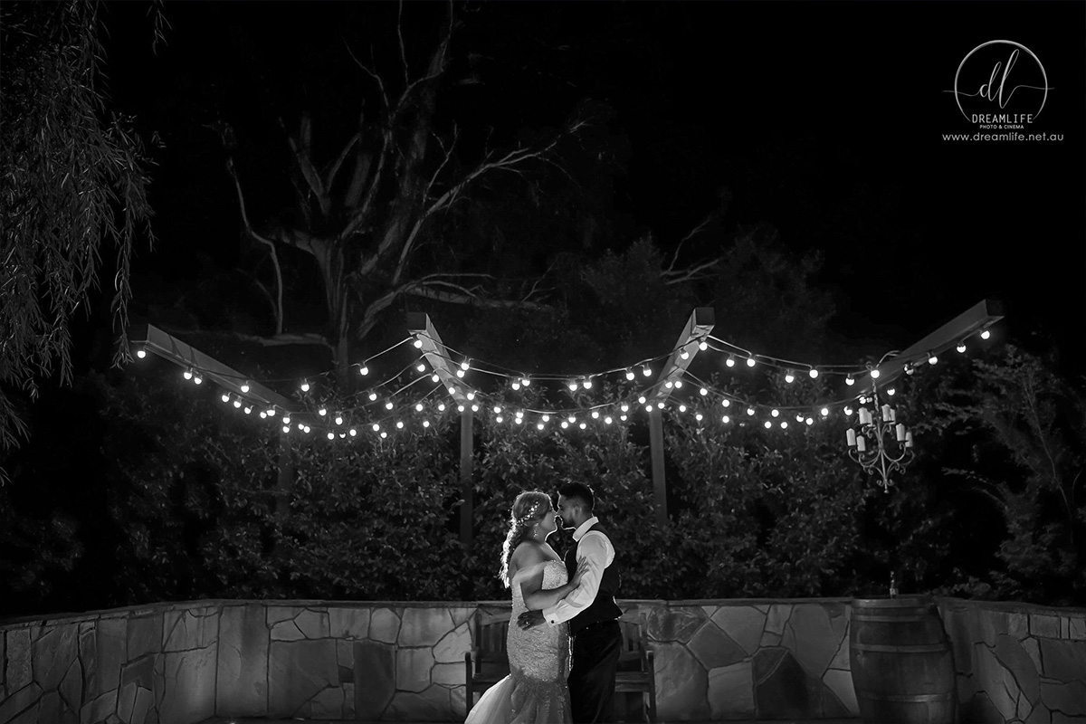 Ballara Receptions - Melbourne Wedding Stone Corner Twilight Ceremony