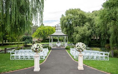 Melbourne Wedding Gazebo Ceremony