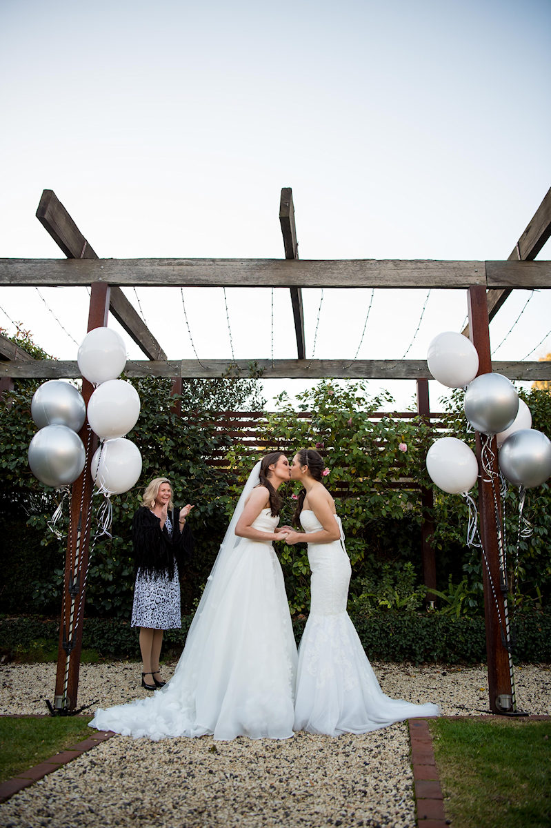 Ballara Receptions - Melbourne Wedding Courtyard Ceremony