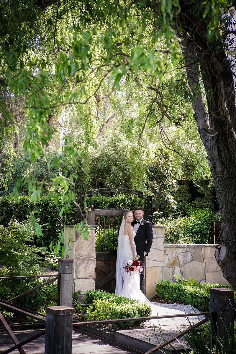 Wedding Lakeside Garden Ceremony