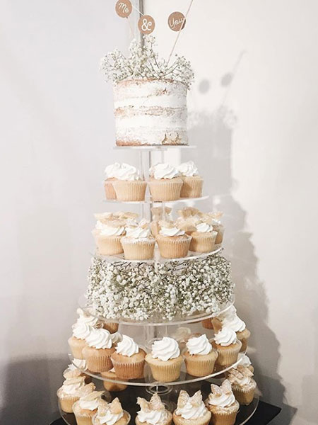 Ballara Wedding Cake Tips - Cupcake Tower
