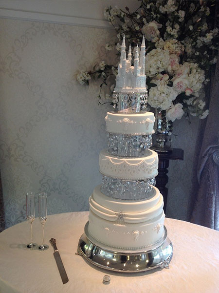 Ballara Wedding Cake Tips - Disneyland Wedding Cake