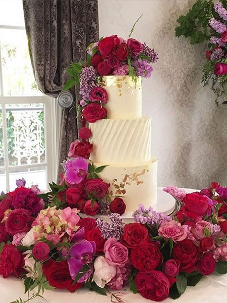 Ballara Wedding Cake Tips - Seasonal Spring Wedding Cakes