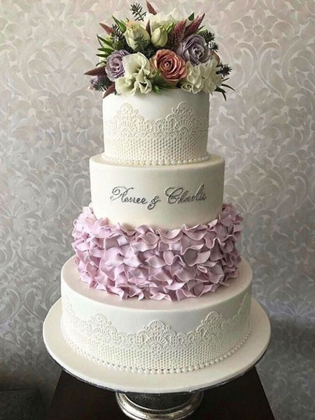 Ballara Wedding Cake Tips - Spring Floral Wedding Cakes