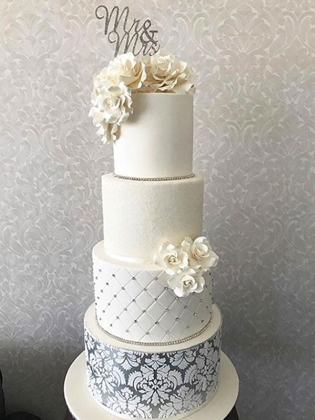 Ballara Wedding Cake Tips - White 3 teir wedding cake