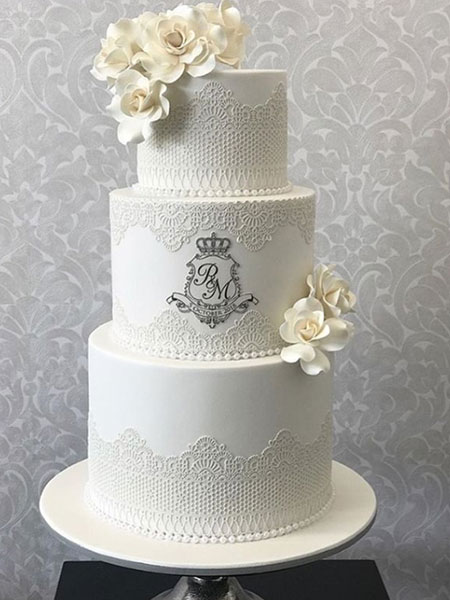 Ballara Wedding Cake Tips - White is the new white wedding cakes