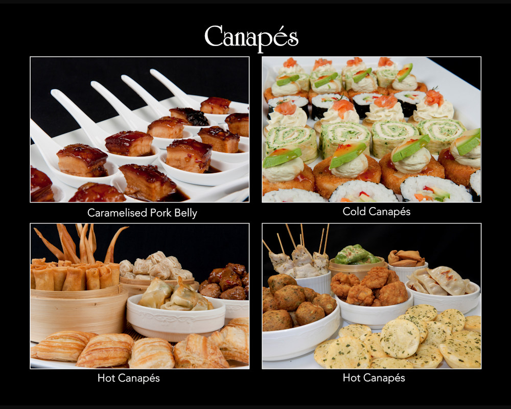 Ballara Wedding Food - Canapes