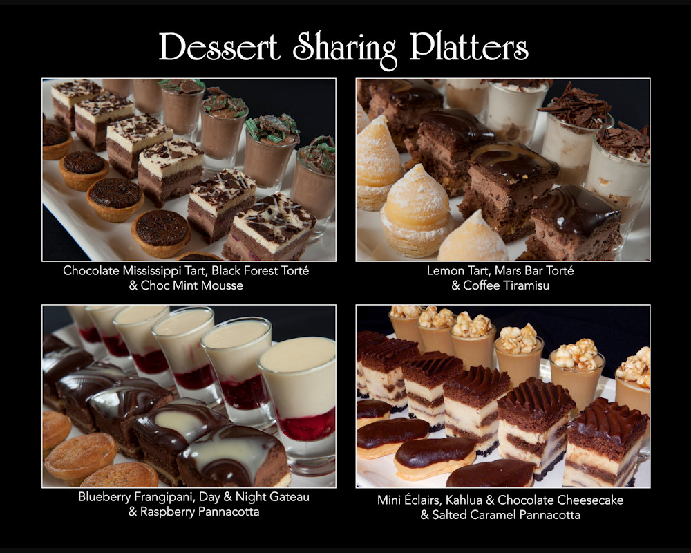 Ballara Wedding Food - Desserts Sharing
