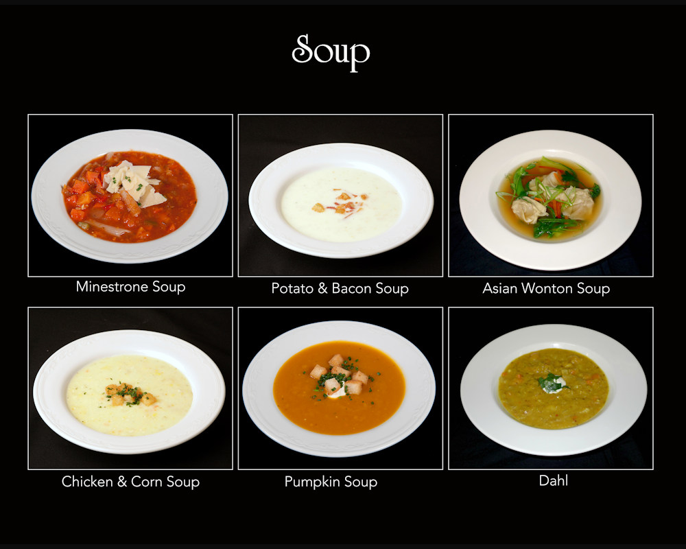 Ballara Wedding Food Soups