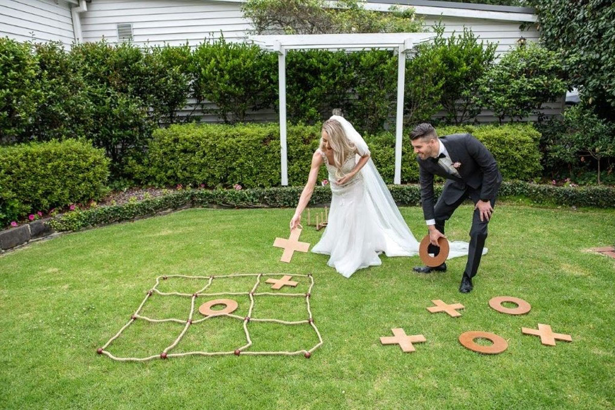 Wedding Lawn Games - Giant Naughts and Crosses