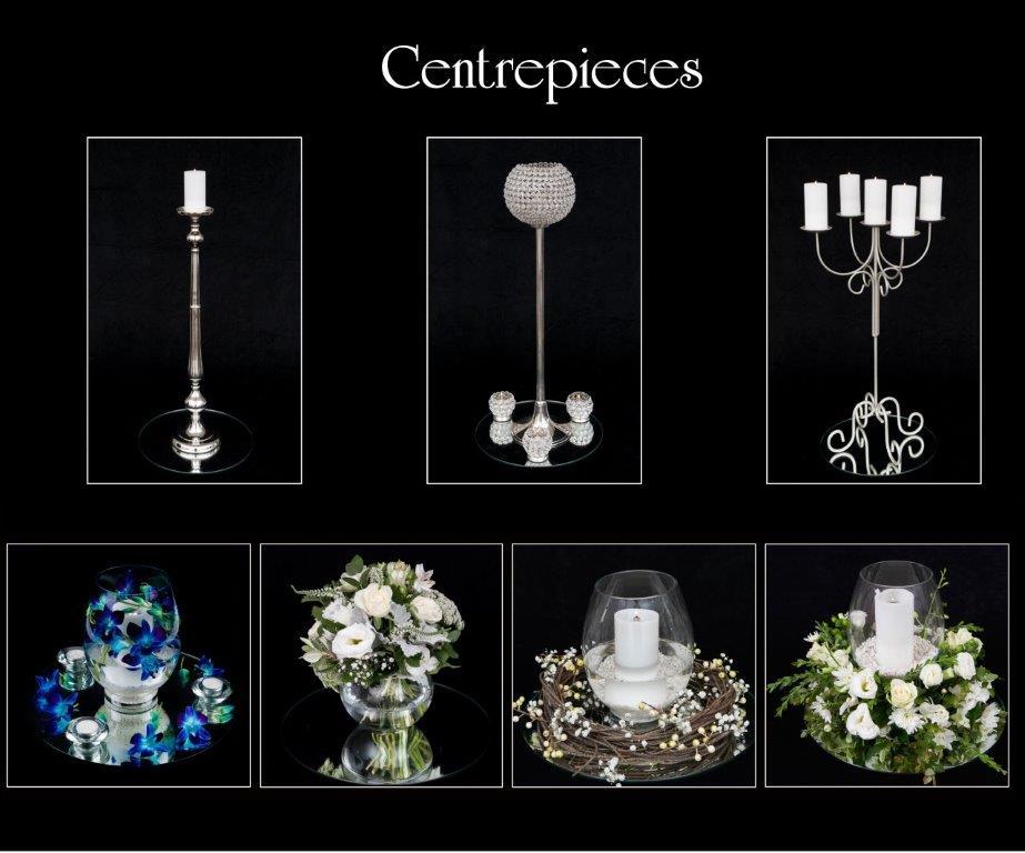 Ballara Receptions - Display Book - Centrepieces