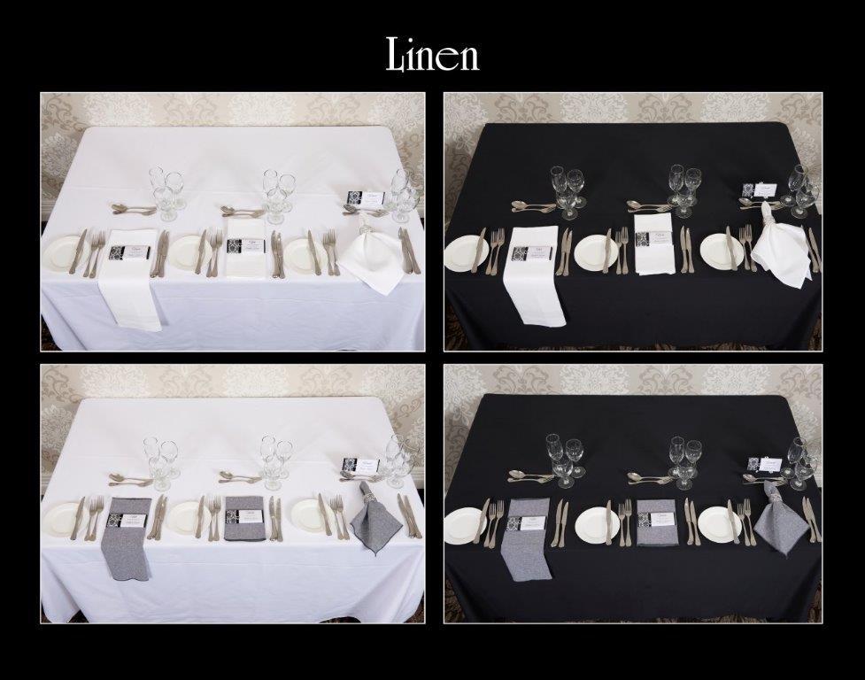 Ballara Receptions - Display Book - Linen