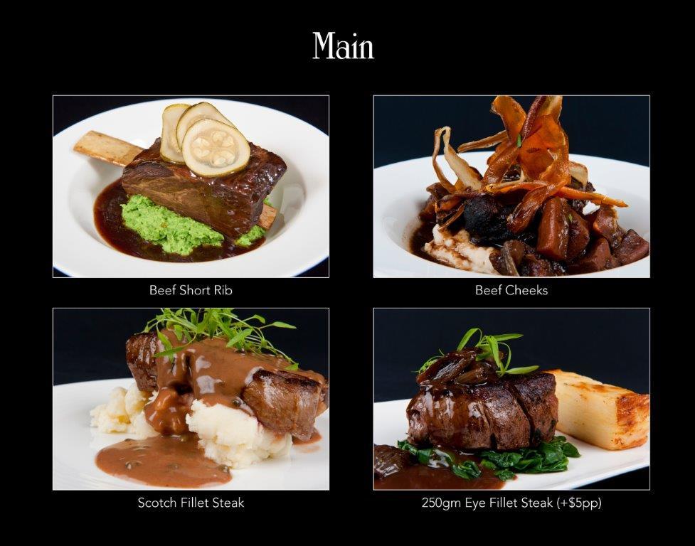 Ballara Receptions - Display Book - Main - Beef