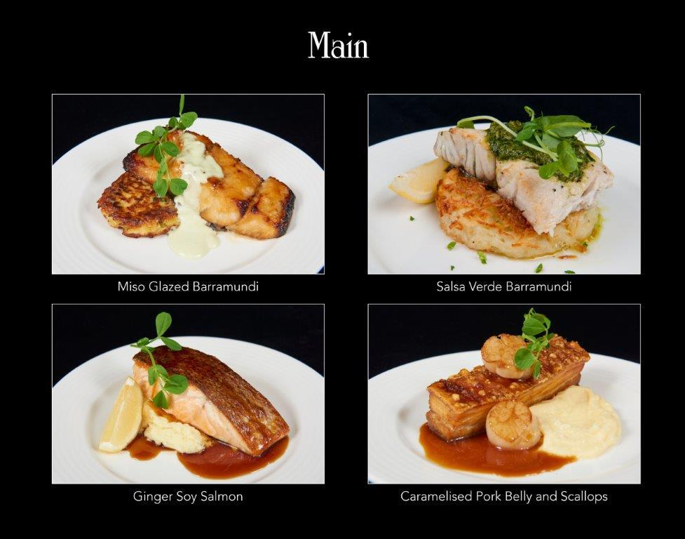 Ballara Receptions - Display Book - Main - Fish & Pork