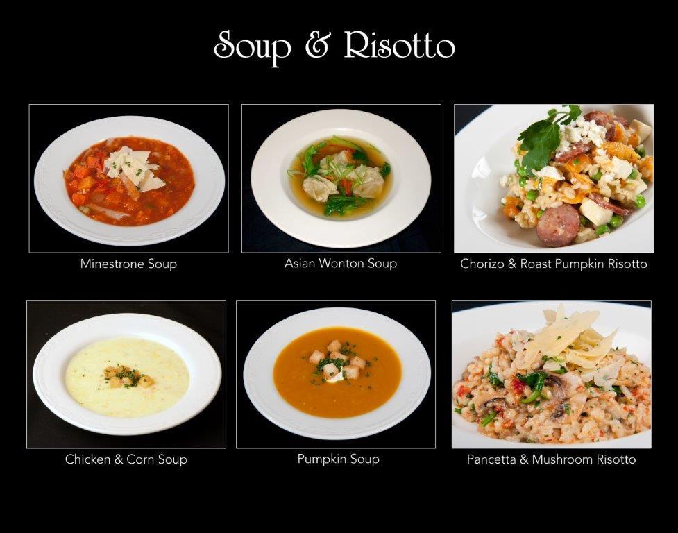 Ballara Receptions - Display Book - Soup & Risotto